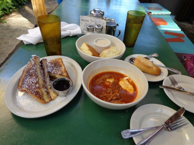 Breakfast at Ria's Bluebird in Atlanta, GA